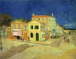 Vincent van Gogh | The Yellow House, 1888 | Giclée Canvas Print