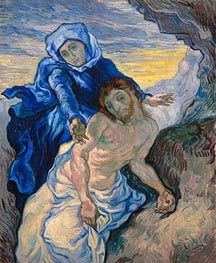 Vincent van Gogh | Pieta (after Delacroix), 1889 | Giclée Canvas Print