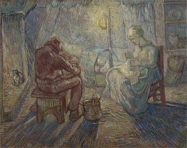 Vincent van Gogh | Night (after Millet), 1889 | Giclée Canvas Print