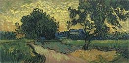 Vincent van Gogh | Landscape at Twilight, 1890 | Giclée Canvas Print