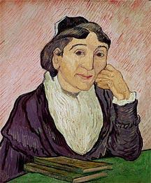 Vincent van Gogh | L'Arlesienne (Madame Ginoux), 1890 | Giclée Canvas Print