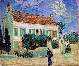 Vincent van Gogh | White House at Night | Giclée Canvas Print
