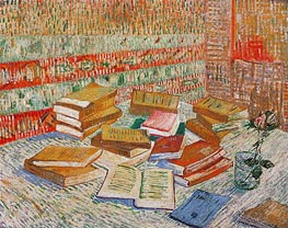 Vincent van Gogh | The Yellow Books (Parisian Novels) | Giclée Canvas Print