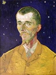 Vincent van Gogh | Portrait of Eugene Boch, 1888 | Giclée Canvas Print