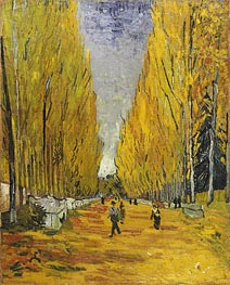 Vincent van Gogh | L'Allee des Alyscamps, Arles, 1888 | Giclée Canvas Print