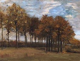 Vincent van Gogh | Autumn Landscape, c.1885 | Giclée Canvas Print