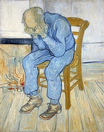 Vincent van Gogh | Old Man in Sorrow (On the Threshold of Eternity), 1890 | Giclée Canvas Print