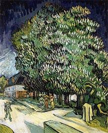 Vincent van Gogh | Chestnut Trees in Blossom, Auvers-sur-Oise, 1890 | Giclée Canvas Print