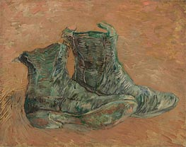 Vincent van Gogh | Shoes, 1887 | Giclée Canvas Print