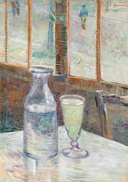 Vincent van Gogh | Cafe Table with Absinthe, 1887 | Giclée Canvas Print