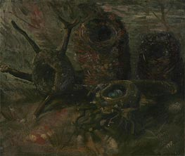 Birds' Nests, 1885 by Vincent van Gogh | Giclée Canvas Print