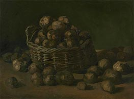 Vincent van Gogh | Basket of Potatoes, 1885 | Giclée Canvas Print