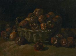 Basket of Apples, 1885 by Vincent van Gogh | Giclée Canvas Print