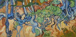 Vincent van Gogh | Tree Roots | Giclée Canvas Print