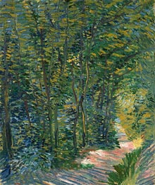 Path in the Woods, 1888 by Vincent van Gogh | Giclée Canvas Print