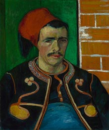 Vincent van Gogh | The Zouave, 1888 | Giclée Canvas Print