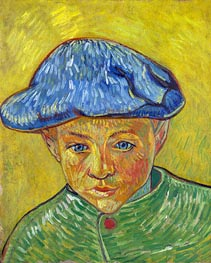 Vincent van Gogh | Portrait of Camille Roulin, 1888 | Giclée Canvas Print