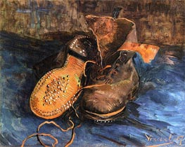 Vincent van Gogh | A Pair of Boots, 1887 | Giclée Canvas Print