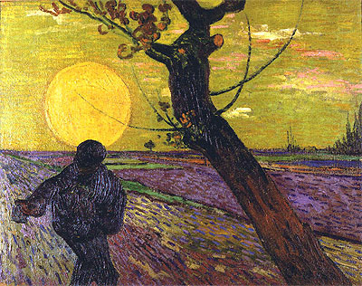 The Sower, 1888   Vincent van Gogh   Painting Reproduction