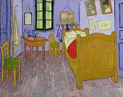 Van Gogh's Bedroom at Arles, 1889 | Vincent van Gogh | Painting Reproduction