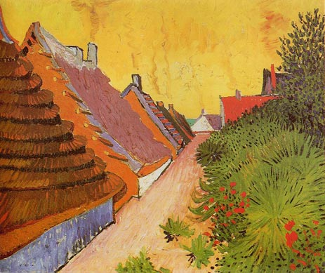 Vincent van Gogh | Street in Saintes-Maries, 1888 | Giclée Canvas Print