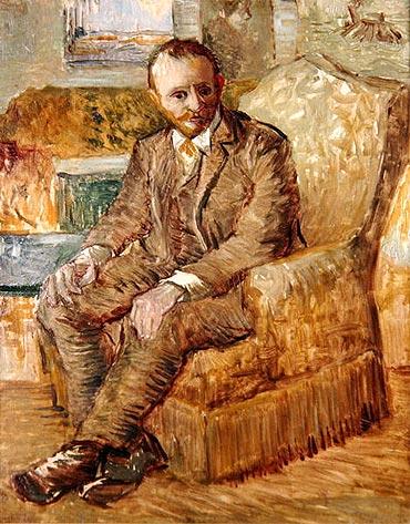 Portrait of Alexander Reid, c.1887 | Vincent van Gogh | Painting Reproduction