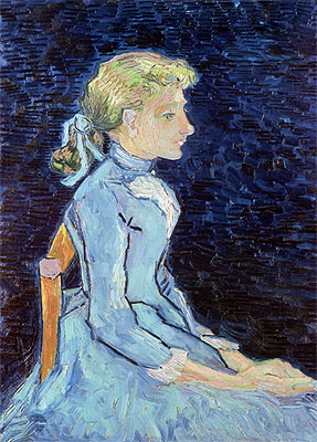 Portrait of Adeline Ravoux, 1890 | Vincent van Gogh | Painting Reproduction