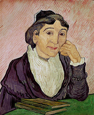L'Arlesienne (Madame Ginoux), 1890 | Vincent van Gogh | Painting Reproduction