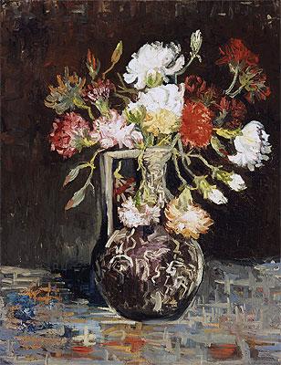 Bouquet of Flowers, 1886   Vincent van Gogh   Painting Reproduction