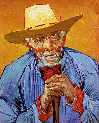 Portrait of Patience Escalier, 1888 | Vincent van Gogh | Painting Reproduction