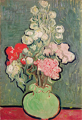 Bouquet of Flowers, 1890 | Vincent van Gogh | Painting Reproduction