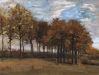 Autumn Landscape, c.1885 | Vincent van Gogh | Painting Reproduction