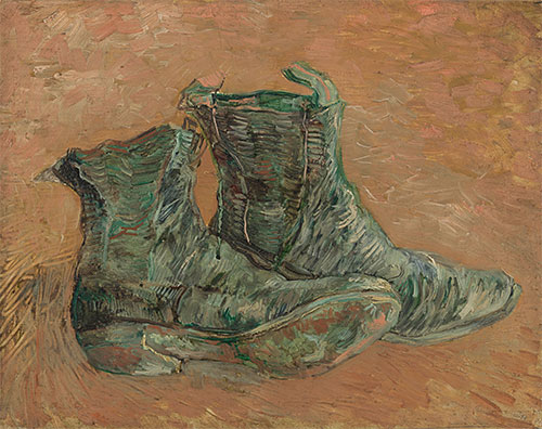 Shoes, 1887 | Vincent van Gogh | Painting Reproduction