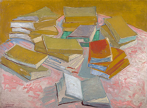 Piles of French Novels, 1887 | Vincent van Gogh | Painting Reproduction