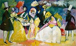 Kandinsky | Group in Crinolines | Giclée Canvas Print