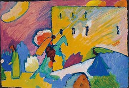 Kandinsky | Study for 'Improvisation 3' | Giclée Canvas Print