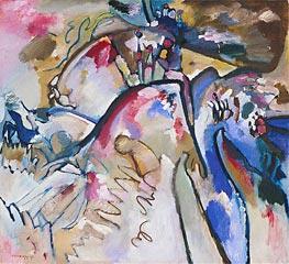 Kandinsky | Improvisation 21A, 1911 | Giclée Canvas Print