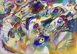 Kandinsky | Sketch 2 for Composition VII, 1913 | Giclée Canvas Print