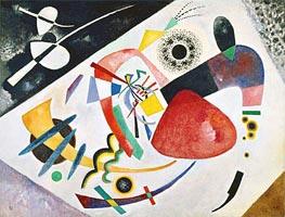 Kandinsky | Red Spot II, 1921 | Giclée Canvas Print