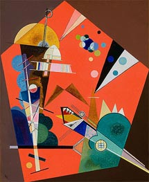 Kandinsky | Tension in Red, 1926 | Giclée Canvas Print