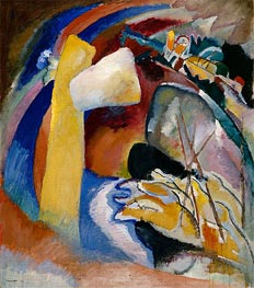 Kandinsky | Study for Painting with White Form, 1913 | Giclée Canvas Print