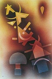 Kandinsky | From Cool Depths, 1928 | Giclée Paper Print