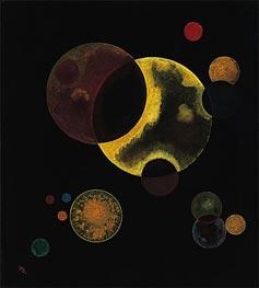 Kandinsky | Heavy Circles, 1927 | Giclée Canvas Print
