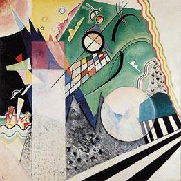 Kandinsky | Open Green, 1923 | Giclée Canvas Print