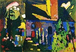 Kandinsky | Church at Murnau, 1909 | Giclée Canvas Print