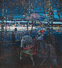 Kandinsky | Riding Couple, 1907 | Giclée Canvas Print