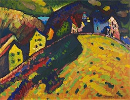 Kandinsky | Houses at Murnau, 1909 | Giclée Canvas Print