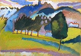 Landscape with Rolling Hills, c.1910 by Kandinsky   Giclée Canvas Print