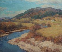 Indian Summer, Vermont, 1922 by Willard Metcalf   Giclée Canvas Print