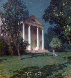 May Night, 1906 by Willard Metcalf   Giclée Canvas Print